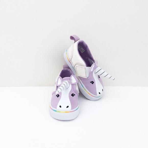 ❤️HOST PICK❤️ Vans lavender unicorn sneakers